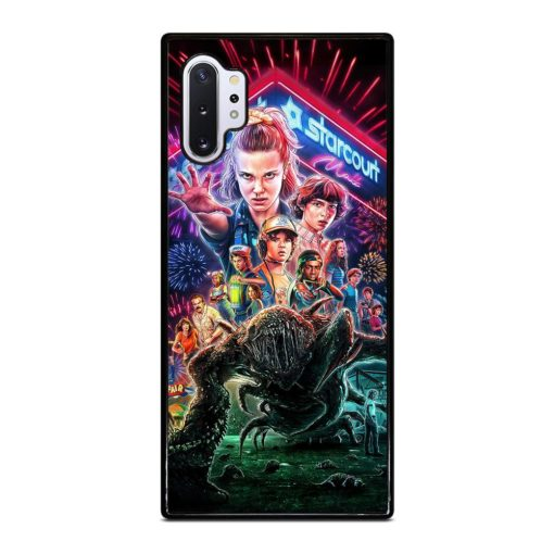 Stranger Things Poster Samsung Galaxy Note 10 Plus Case