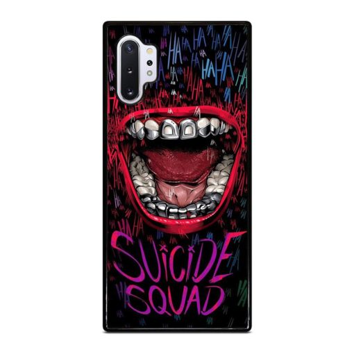 SUICIDE SQUAD MOUTH Samsung Galaxy Note 10 Plus Case