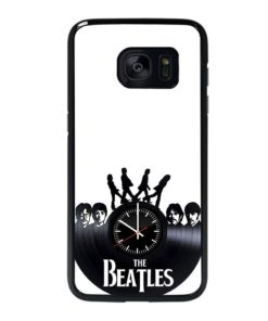 The Beatles Clock Samsung Galaxy S7 Edge Case