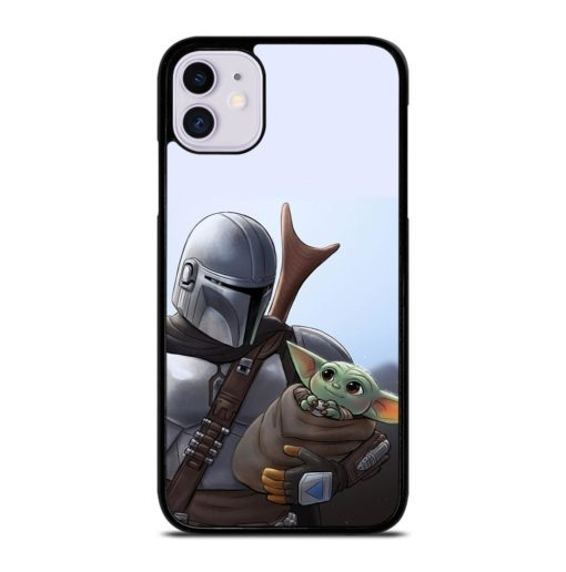 THE MANDALORIAN AND BABY YODA iPhone 11 Case