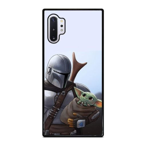 THE MANDALORIAN AND BABY YODA Samsung Galaxy Note 10 Plus Case