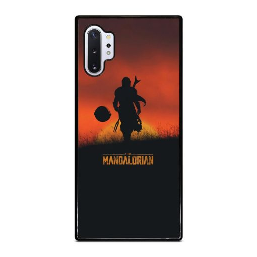 THE MANDALORIAN POSTER Samsung Galaxy Note 10 Plus Case