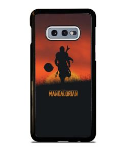 THE MANDALORIAN POSTER Samsung Galaxy S10e Case