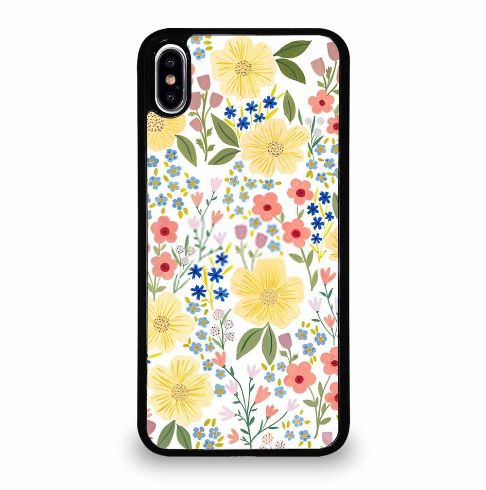 TINY FLORAL PATTERN iPhone XS Max Case