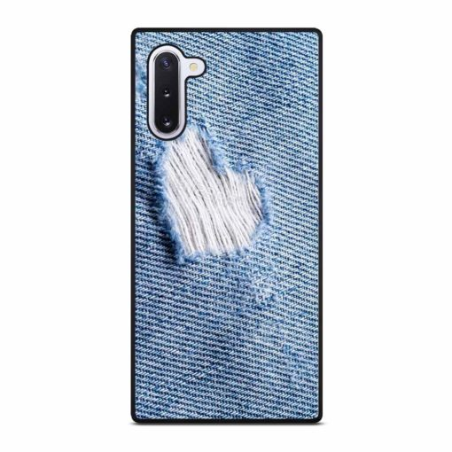 TORN JEANS TEXTURE Samsung Galaxy Note 10 Case