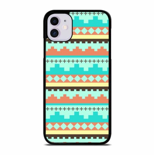 TRIBAL ETHNIC STRIPED iPhone 11 Case Cover