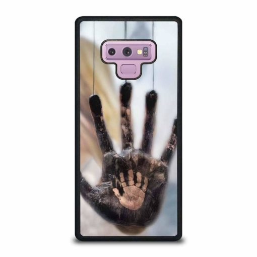 TWO DIFFERENT HANDS Samsung Galaxy Note 9 Case