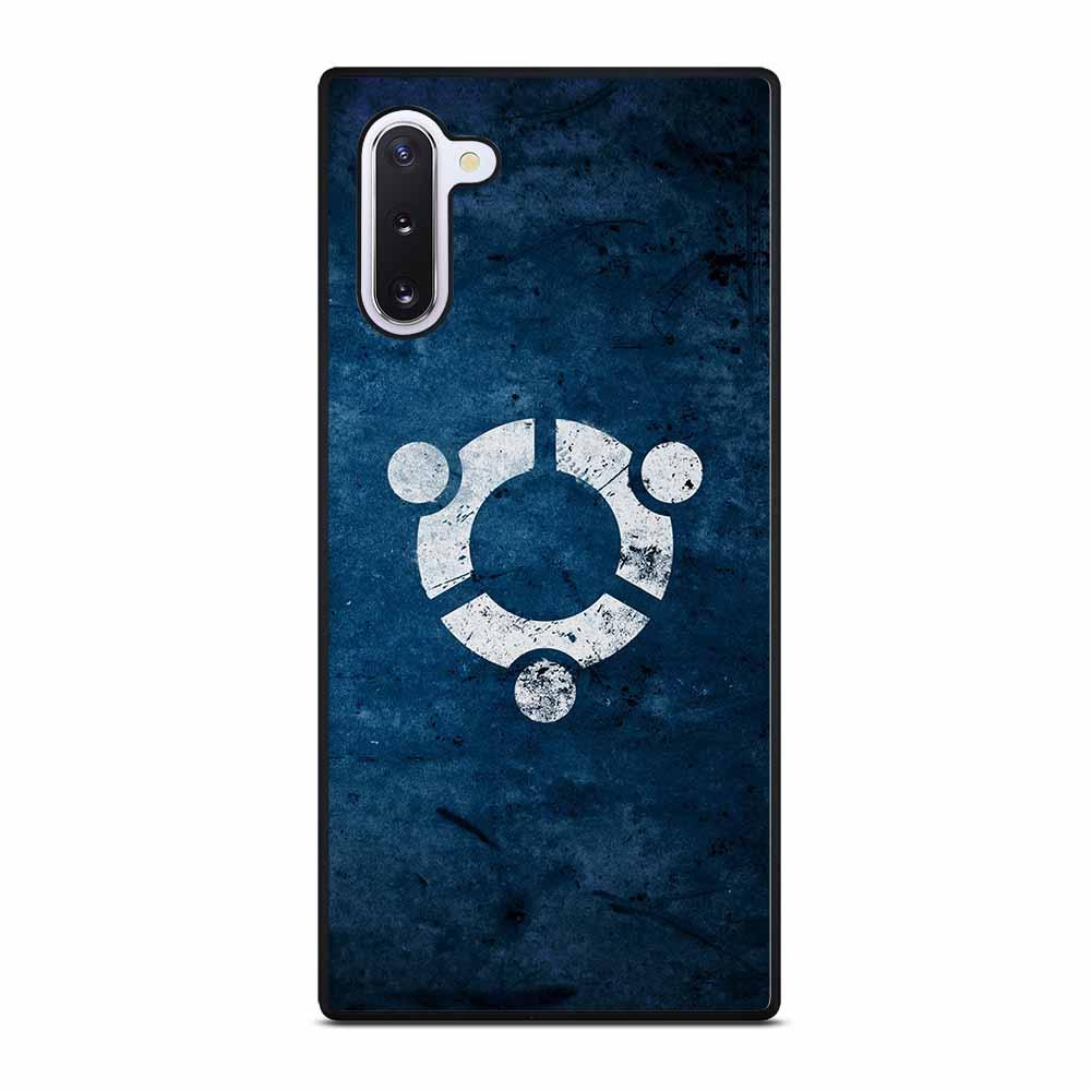 UBUNTU LOGO ABSTRACT Samsung Galaxy Note 10 Case
