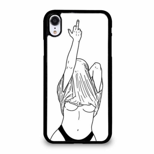 UNDRESSED SKETCH iPhone XR Case Cover