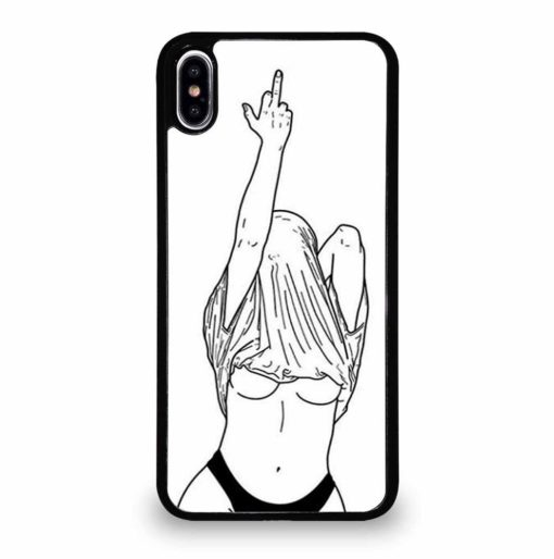 UNDRESSED SKETCH iPhone XS Max Case Cover
