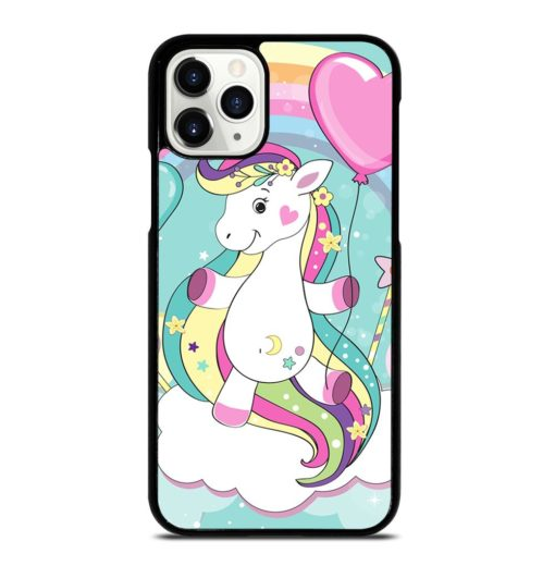 UNICORN FLIES ON THE CLOUDS iPhone 11 Pro Case