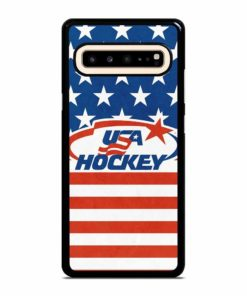 USA HOCKEY LOGO Samsung Galaxy S10 5G Case
