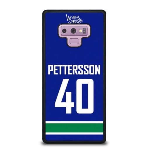 VANCOUVER CANUCKS ELIAS PETTERSSON HOME JERSEY BACK Samsung Galaxy Note 9 Case
