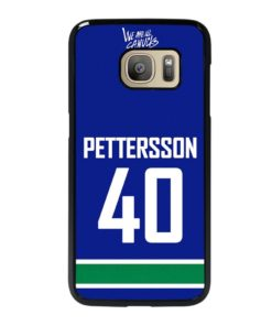 VANCOUVER CANUCKS ELIAS PETTERSSON HOME JERSEY BACK Samsung Galaxy S7 Case