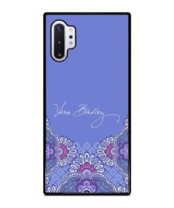 Vera Bradley Lilac Tapestry Purple Samsung Galaxy Note 10 Plus Case