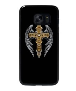VINTAGE CROSS WINGS Samsung Galaxy S7 Edge Case
