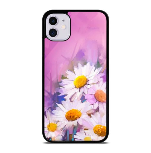 VINTAGE FLOWERS PAINTING iPhone 11 Case