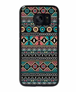 VINTAGE TRIBAL AZTEC Samsung Galaxy S7 Edge Case