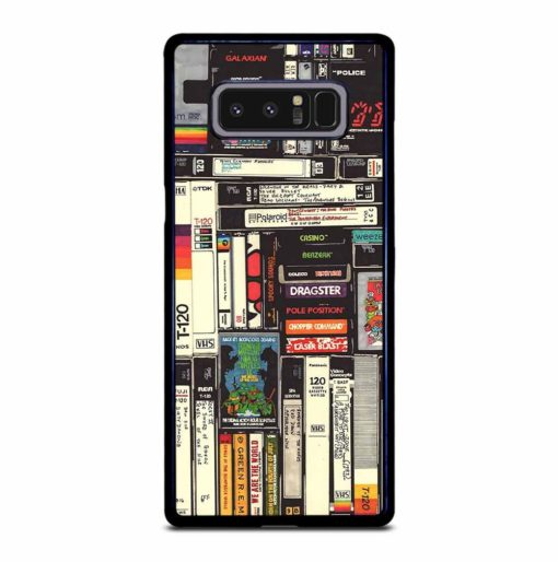 VINTAGE VIDEO CASSETTE Samsung Galaxy Note 8 Case