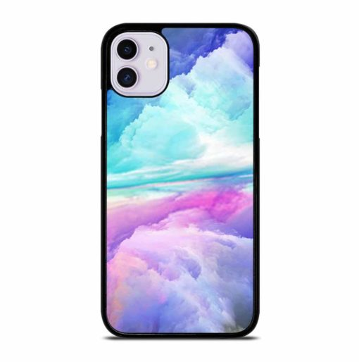 VIRTUAL ABSTRACT LANDSCAPE iPhone 11 Case