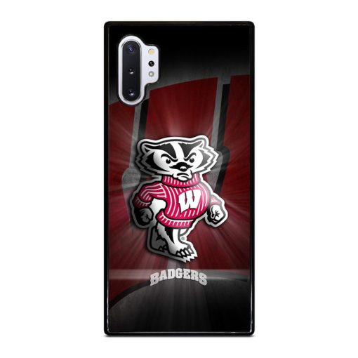 Wisconsin Badgers Samsung Galaxy Note 10 Plus Case