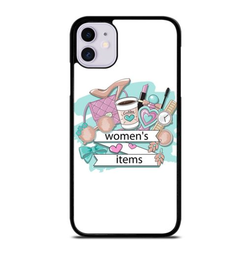 WOMEN COSMETICS ITEMS iPhone 11 Case