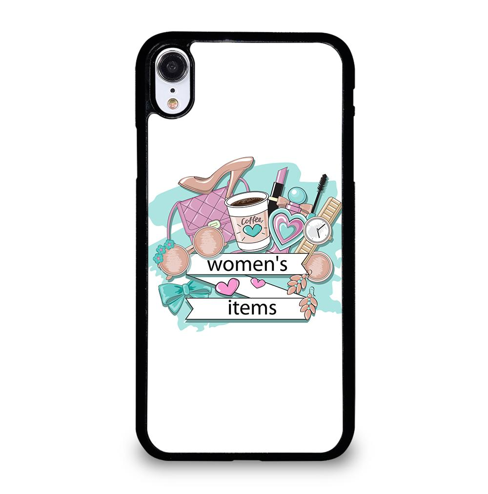 WOMEN COSMETICS ITEMS iPhone XR Case