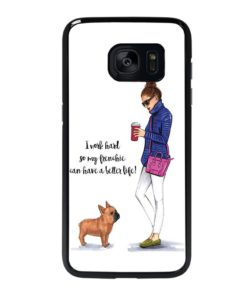 WORKING WOMEN QUOTES Samsung Galaxy S7 Edge Case