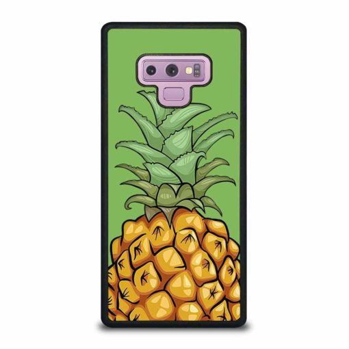 YELLOW PINEAPPLE TROPICAL FRUIT Samsung Galaxy Note 9 Case