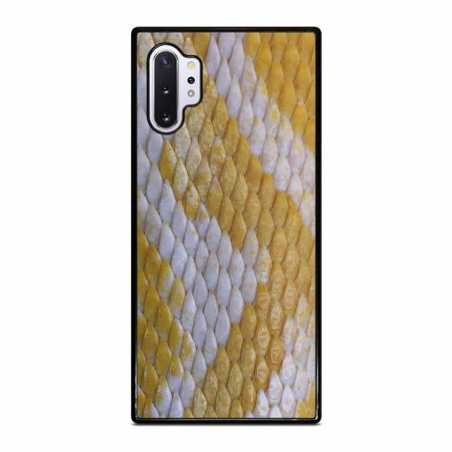 YELLOW SNAKE SKIN Samsung Galaxy Note 10 Plus Case
