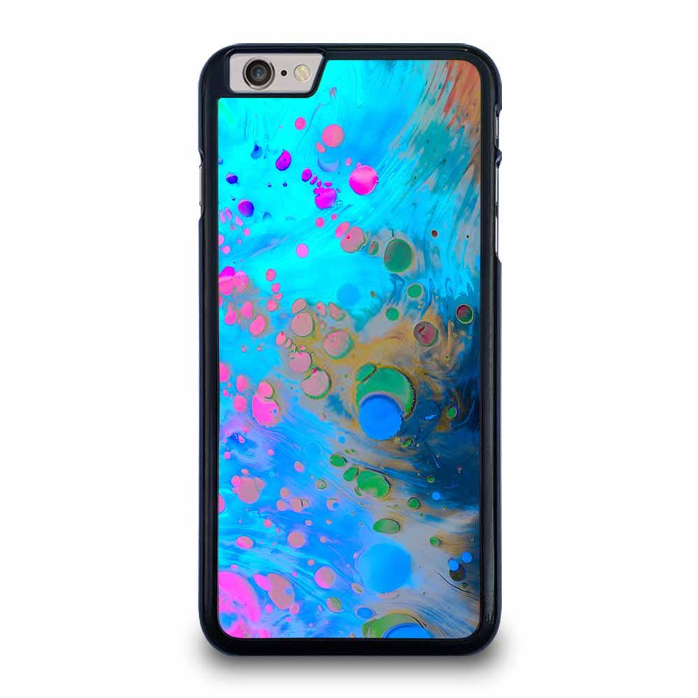 ABSTRACT MARBLING ART PATTERNS AS COLORFUL iPhone 6 / 6s Plus Case Cover