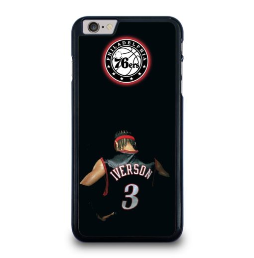 Allen Iverson Sixers iPhone 6 / 6s Plus Case Cover