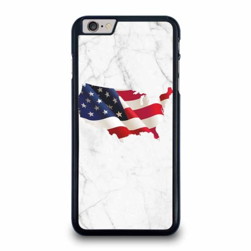 AMERICAN WHITE MARBLE iPhone 6 / 6s Plus Case Cover