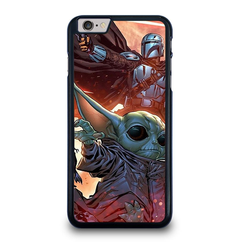 BABY YODA AND THE MANDALORIAN iPhone 6 / 6s Plus Case Cover