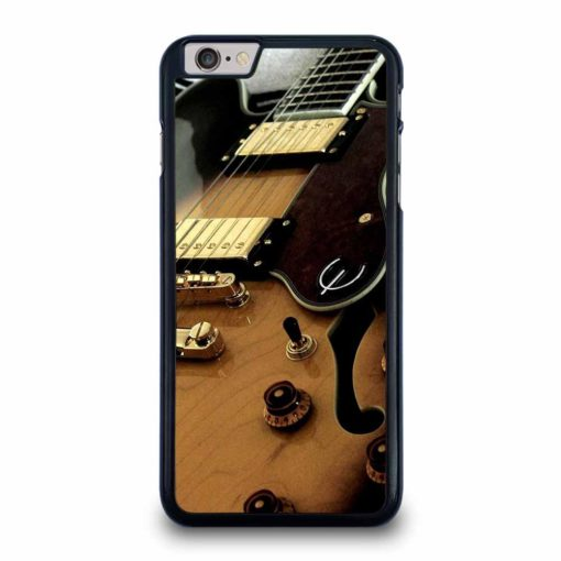 BLACK AND GOLD GUITAR iPhone 6 / 6s Plus Case Cover