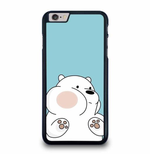 EMBROIDERY WE BARE BEARS iPhone 6 / 6S Plus Case
