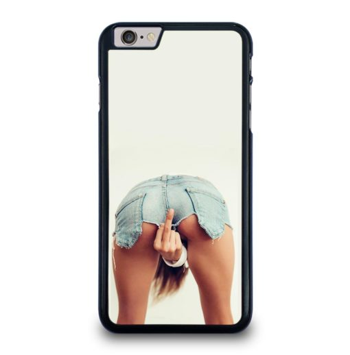 GIRL SHOWING MIDDLE FINGER iPhone 6 / 6S Plus Case