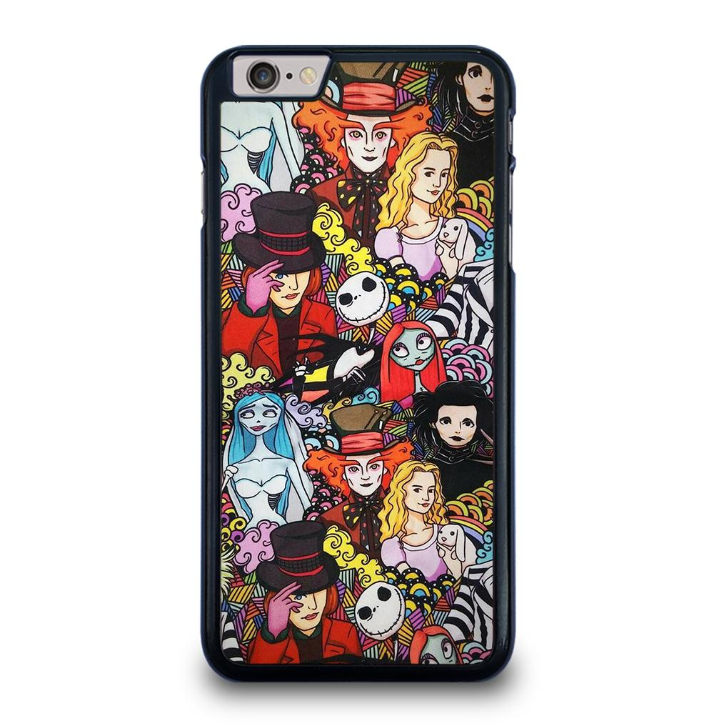 Johnny Depp Faces Characters iPhone 6 / 6S Plus Case