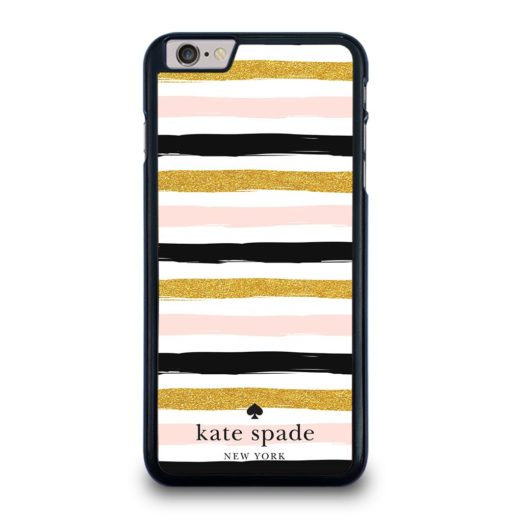 KATE SPADE PINK STRIPED SEAMLESS iPhone 6 / 6S Plus Case