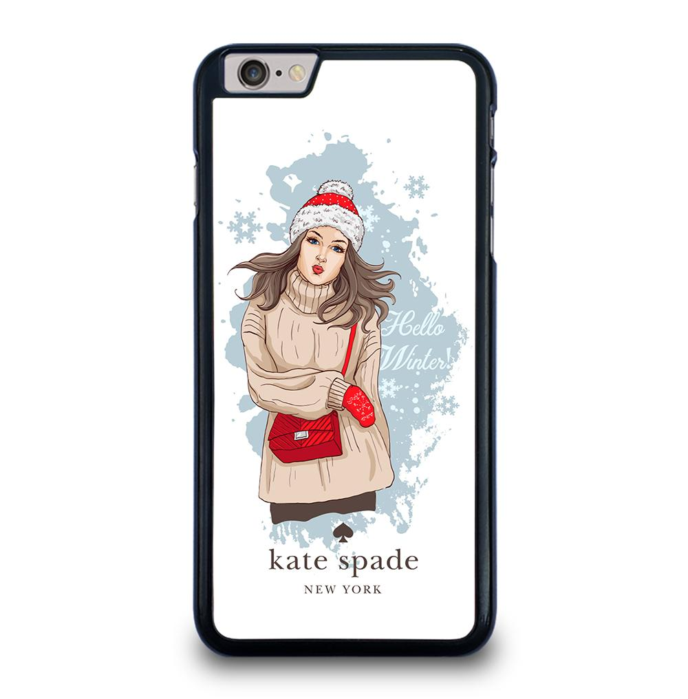 KATE SPADE WINTER SEASIDE iPhone 6 / 6s Plus Case Cover