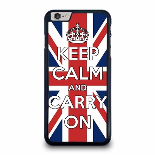 KEEP CALM UK iPhone 6 / 6s Plus Case Cover