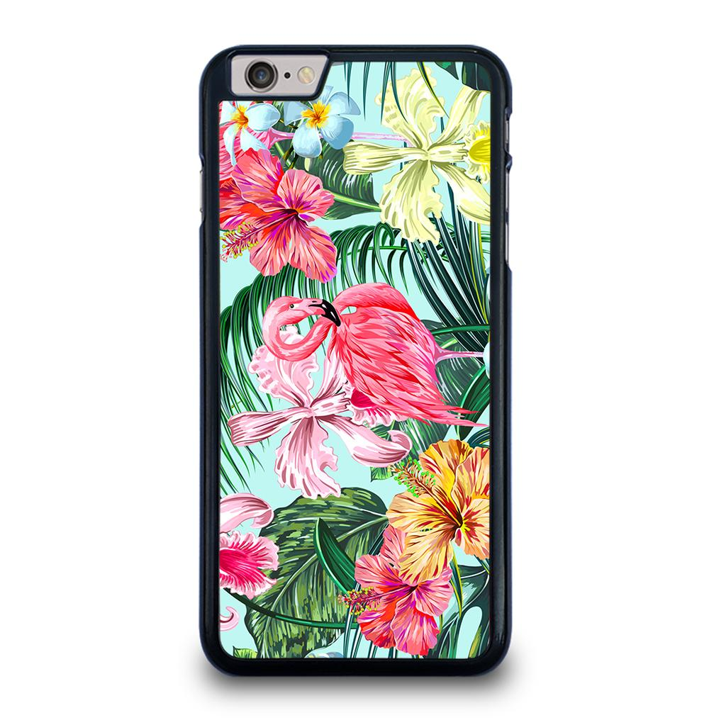PALM LEAVES PINK FLAMINGOS iPhone 6 / 6S Plus Case