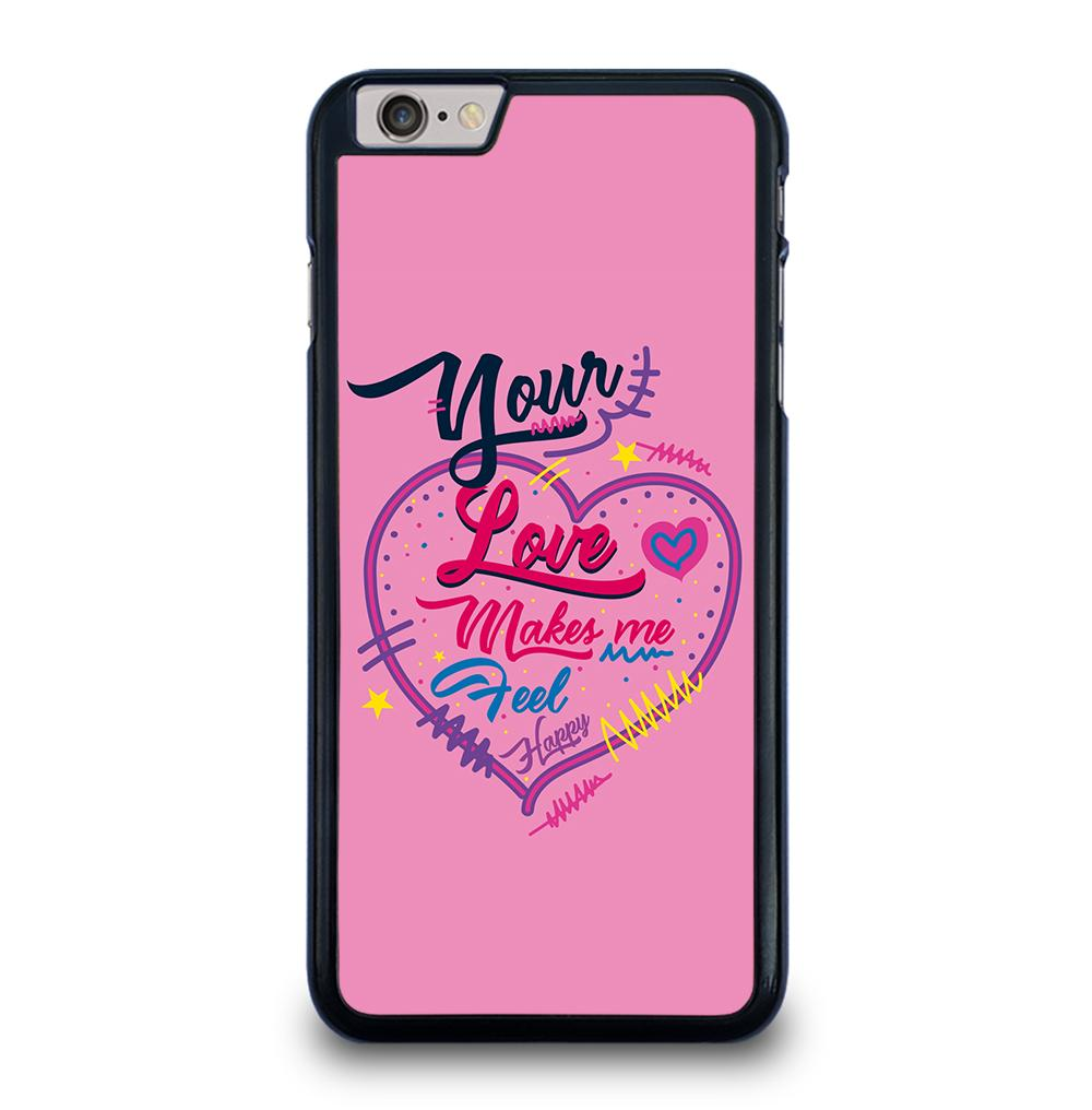 Pink Love Quotes iPhone 6 / 6S Plus Case