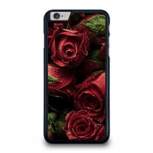 RED ROSE FLORAL iPhone 6/6S Plus Case
