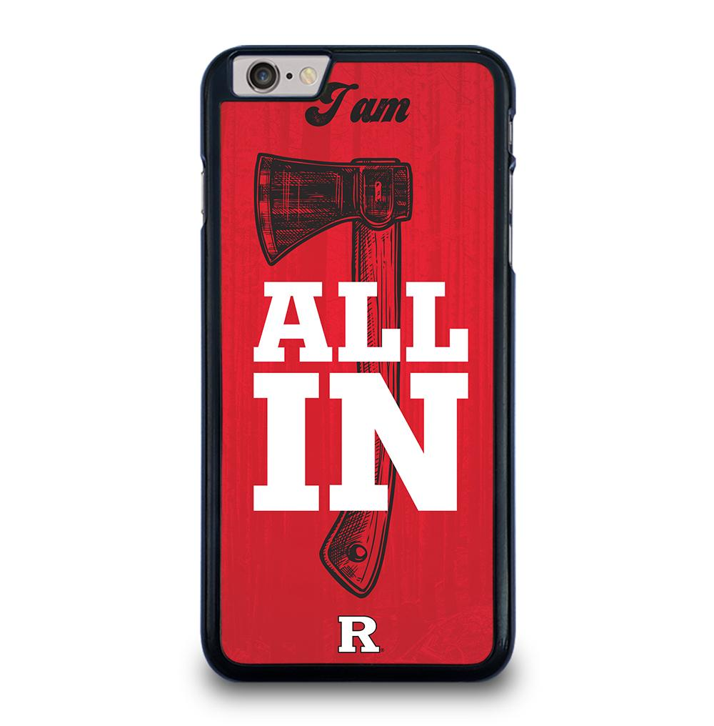 Rutgers Football RED iPhone 6 / 6s Plus Case Cover
