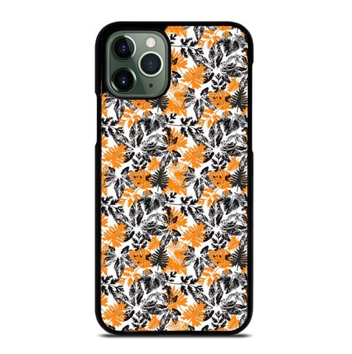 SILHOUETTE LEAVES iPhone 11 Pro Max Case