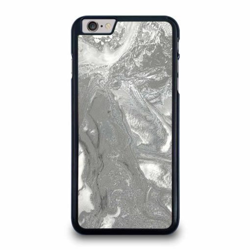 SILVER GRAY MARBLE iPhone 6 / 6S Plus Case