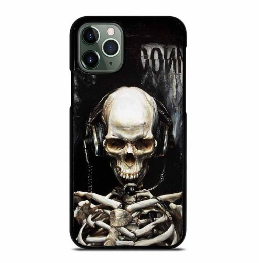 SKULL LISTENING TO MUSIC iPhone 11 Pro Max Case