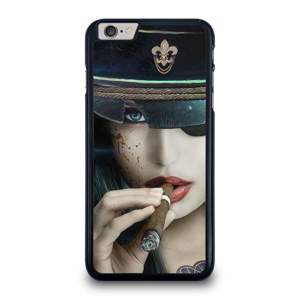 SMOKING GIRL iPhone 6 / 6s Plus Case Cover