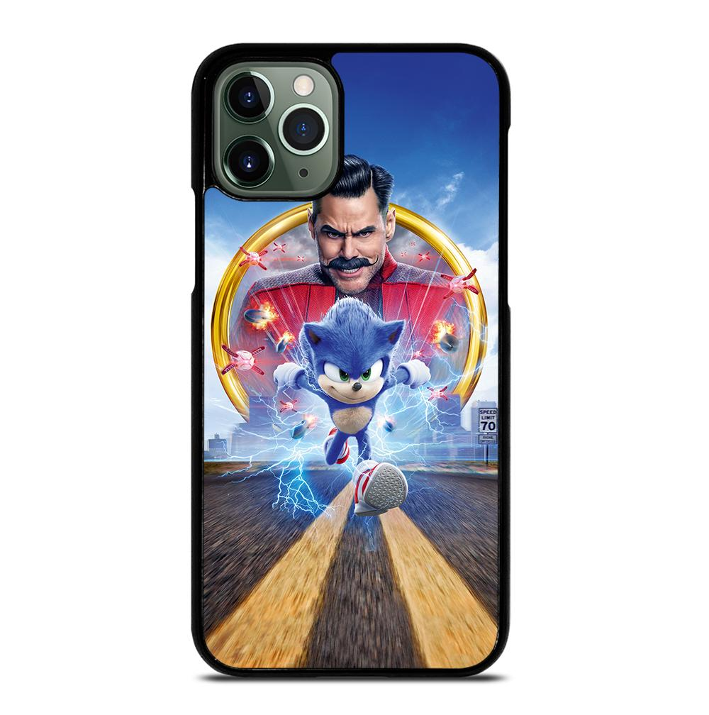 Sonic The Hedgehog Poster iPhone 11 Pro Max Case